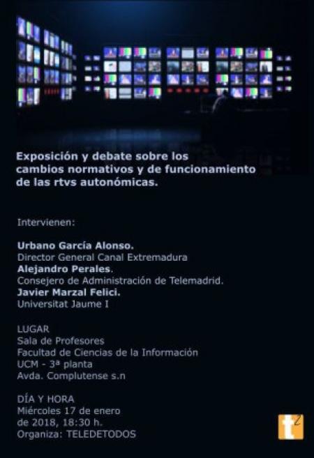 Debate sobre nueva gobernanza en las radiotelevisiones
