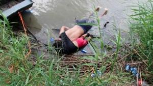 Publicar o no publicar la foto de Óscar y Valeria: la visión opuesta de periodistas y ONG
