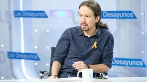 """Pablo Iglesias asegura que el concurso que está en marcha en RTVE """"tiene muchos defectos"""" y es """"mejorable"""""""