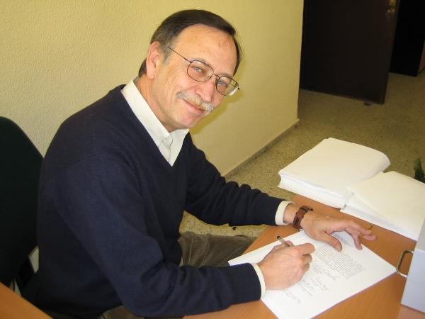 Fallecimiento de Enrique Bustamante